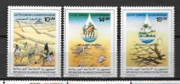 1985 - 561 à 563 **MNH - Lutte Contre La Désertification - 2 - Mauritania (1960-...)