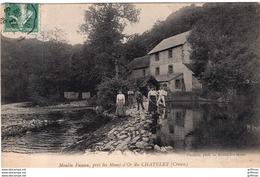 ENVIRONS LES MINES D'OR DU CHATELET LE MOULIN FUSEAU 1909 TBE - France