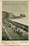 2254 - Italie NAPOLI  : ESPOSOZIONE D' IGIENE - Cortes Reale All' Inaurgurazione - édit.E. Ragazino N°54 - Circulée 1901 - Napoli (Nepel)