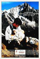 Publicité Evian  Papa Bébé Biberon Allaitement - Reclame