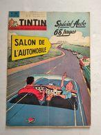 TINTIN N° 780 SPECIAL AUTO  COVER J.GRATON - Tintin