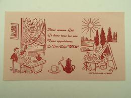 BUVARD CAFE DYA CLICHE DELEPLANCQUE LA BASSEE - Café & Thé