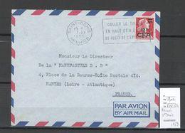 Reunion - Lettre De Saint Denis - 1959 - Reunion Island (1852-1975)
