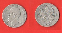 Romania 2 LEI 1881 Romanie Carlo I° - Roumanie