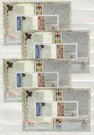 """Gibraltar - 4 X Block Nr. 123 - """"800. Jahrestag Erklärung Der Magna Carta"""" ** / MNH (aus Dem Jahr 2015) - Gibraltar"""