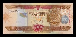 Islas Salomon Solomon 100 Dollars 2006 Pick 30a A/1 Low Serial A/1 000255 SC UNC - Salomons