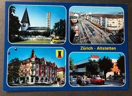 Zürich Altstätten/ Mehrbild Tram Oldtimer Autos - ZH Zurich