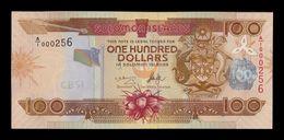 Islas Salomon Solomon 100 Dollars 2006 Pick 30a A/1 Low Serial A/1 000256 SC UNC - Salomons
