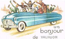 62  UN BONJOUR    DE   VALHUON   CPM  TBE  12 - France
