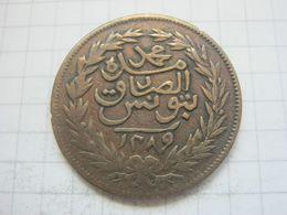 Tunisia (Tunis) , 2 Kharub 1289 (1872) - Tunisia