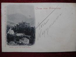 AUSTRIA / SEMMERING / 1898 (AB31) - Semmering
