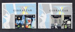 Gibilterra - 1993 - Europa CEPT - Arte Contemporanea - 4 Valori - Nuovi ** - Con Bordo Di Foglio - (FDC22755) - Gibraltar