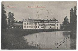 CPA PK  WAREMME  CHATEAU DE BOVELINGEN - Belgique