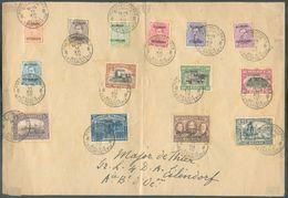 OC N°38/39-41/45-47/49-51/54 Obl. Sc POSTES MILITAIRES BELGIQUE 8 Sur Lettre Du 11-XII-1919 Vers ABC.  COB 230 Euros. - - WW I