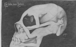 Carte Arcimboldesque--femmes Nues.  Scan - 1900-1949