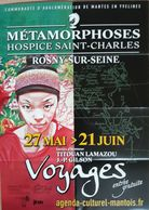 Affiche LAMAZOU Titouan Exposition Voyages Rosny-sur-Seine - Affiches & Offsets
