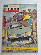 TINTIN N° 782 MARIE ANTOINE CAREME (4p) + SCOTLAND YARD (4p) + LA GIRAFE DU ROI CHARLES X ( 4p ) COVER J.GRATON - Tintin