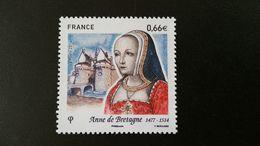 France Timbre NEUF N°4834- Année 2014 - Anne De Bretagne - Francia