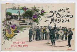 50  St LO         Souvenir Du Concours De Musique Du 30-31 Mai 1909 - Saint Lo