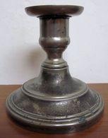 CANDELIERE PORTACANDELA LA S. MARCO  SILVER PLATE VINTAGE - Lámparas