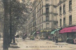 2020 - 07 - SEINE - 75 - PARIS - 10ème Arrondissement -Bd De La Villette - Arrondissement: 10
