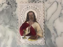 Canivet Polychrome Représentant Le Christ. - Devotion Images