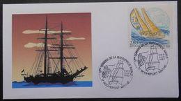 116  Cachet Congrès De La Marcophilie Navale  Rochefort 17 Charente Maritime - Marcophilie (Lettres)