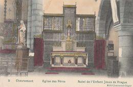 Chèvremont. Eglise Des Pères. Autel De L'Enfant Jésus De Prague. Scan - Other