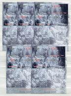"Tonga - 5 X Block Nr. 86 - ""Ostern - Rembrandt"" ** / MNH (aus Dem Jahr 2015) - Tonga (1970-...)"