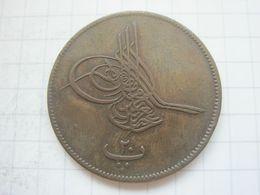 Egypt , 20 Para 1277 (1868) - Egypte