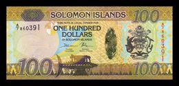 Islas Salomon Solomon 100 Dollars 2015 Pick 36b SC UNC - Salomons