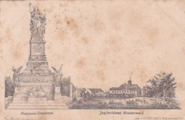 251522Jagdschloss Nierderwald – National Denkmal. - Allemagne