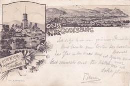 251572Gruss Von Der Godesburg, (Poststempel 18923)(Beschnittene Kanten) - Bonn