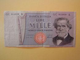 1000 LIRE  GIUSEPPE VERDI  - Banconota Quasi Fior Di Stampa - 1000 Lire