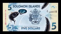Islas Salomón Solomon 5 Dollars 2019 Pick New Polymer SC UNC - Salomons