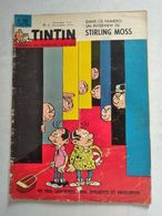 TINTIN N° 786  STERLING MOSS (3p) + VASCO NUNE DE BALBOA (4p) + CHARLES TELLIER LE PERE DU FROID (4p) COVER ATTANASIO - Tintin