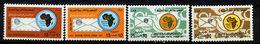 Libye ** N° 413 à 416 - 10e Ann. De L'Union Postale Africaine - Libya