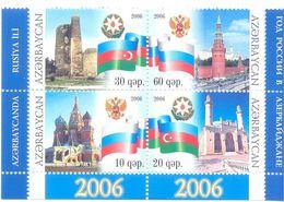2006. Azerbaijan, Year Of Russia In Azerbaijan, 4v,  Mint/** - Azerbaijan