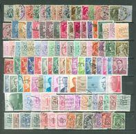 111 Different Stamps België, Belqique, Belgium, Belgien (B01) - Used. - Belgium