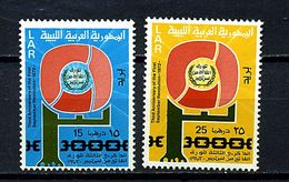 Libye ** N° 427/428 - 3e Ann. De La République Arabe Libyenne - Libya