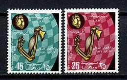 Libye ** N° 433/434 - Journée Mondiale De La Santé - Libya