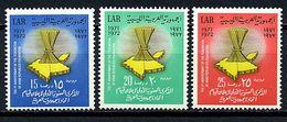 Libye ** N° 435 à 437 - Ann. De La Fédération Des Républiques Arabes - Libya