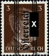 Österreich 675 Postfrisch 1945 Gitter-Aufdruck - 1918-1945 1st Republic