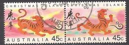 Weihnachts-Insel / Christmas Island (1998)  Mi.Nr.  435 + 436  Gest. / Used  (1gi07) Paar / Pair - Christmas Island