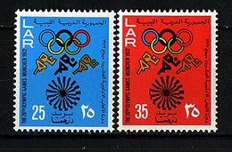 Libye ** N° 456/457 - J.O. De Munich - Libya