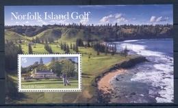 NORFOLK ISLAND * 2018 * S/Sheet * MNH** Golf Sport - Mi.No BL68 - Norfolk Island