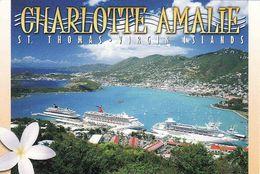 Antilles, Virgin Islands US, St. Thomas, Harbour Of Charlote Amalie, Port,  Unused - Vierges (Iles), Amér.