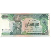 Billet, Cambodge, 500 Riels, Undated (1973-75), KM:16a, SUP - Cambodge