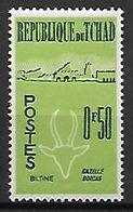 T C H A D   -    1961 / 62.    Y&T N° 66  **.   Animaux Stylisés   /   Gazelle. - Chad (1960-...)