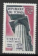 T C H A D   -    1966.     Y&T N° 129 **  .   UNESCO - Chad (1960-...)